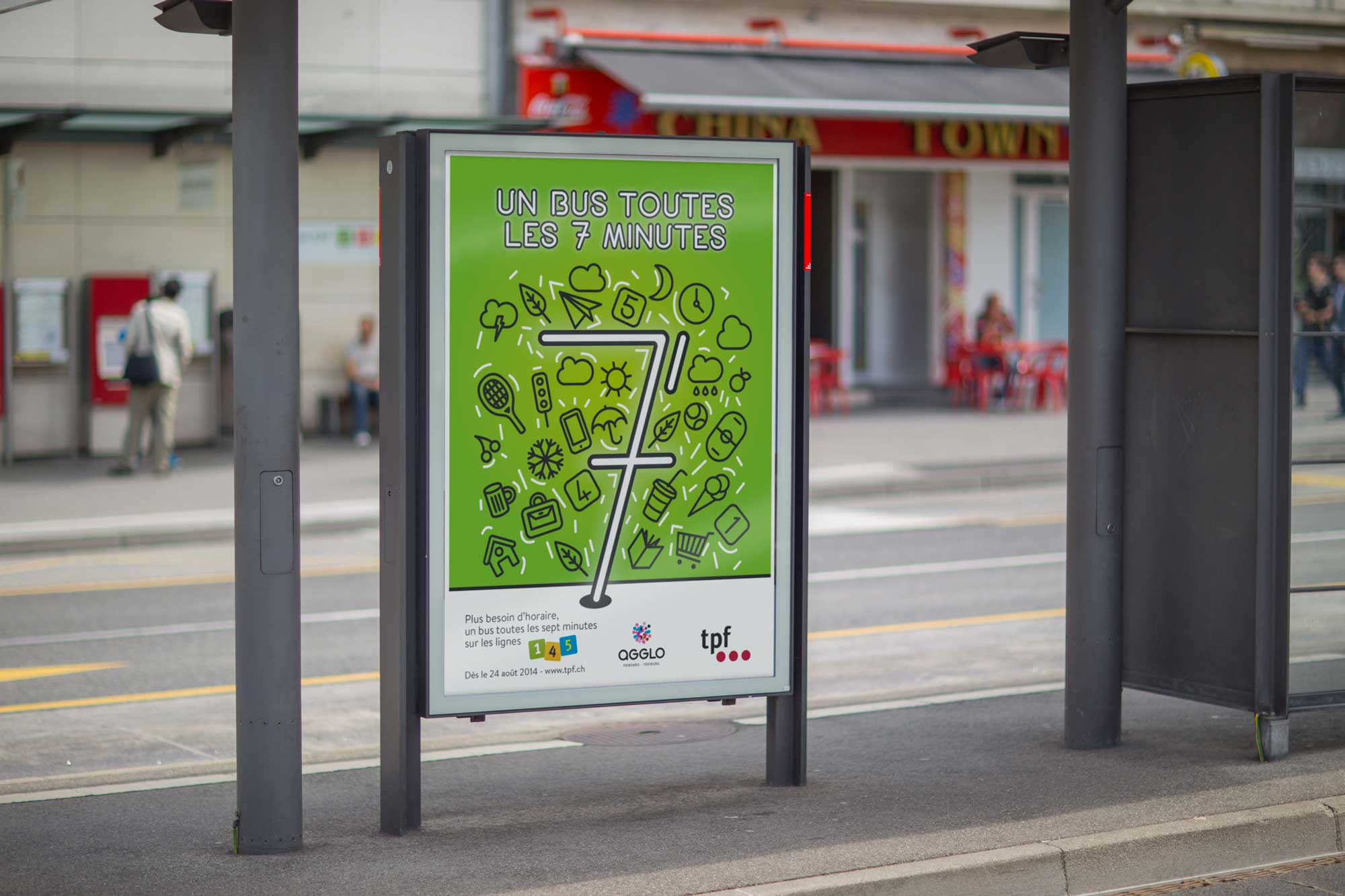 Frank R Communication - TPF Campagne 7 minutes - Fribourg